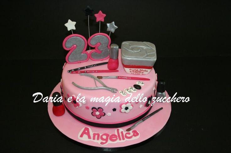 #Torta Nails #Nails cake #Torta manicure #Manicure cake