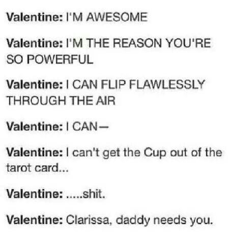 ~ TMI ~ TID ~ Valentine ~ Who's your daddy? ~