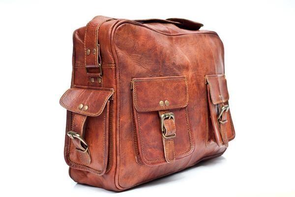 Duffel Bag / skinn / veske / Leather goods / Alcala fra www.lyle-d.com