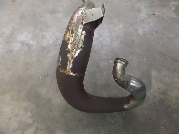 1984 KAWASAKI KX250 EXPANSION CHAMBER EXHAUST MUFFLER SILENCER FMF POWER CORE and other Used Motorcycle Parts - Motoplane Parts