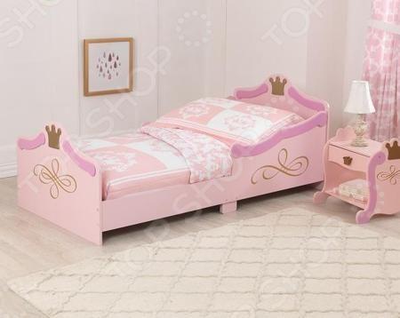 KidKraft «Принцесса»  — 24027р. -------------------------------- Кроватка детская KidKraft Принцесса предназначена для детей от 1,5 лет. Сделана из древесины натурального и безопасного для здоровья материала. Особенностью кроватки прочность, долговечность и экологичность. Кроватка непременно станет комфортной зоной для сна и приятным украшением комнаты. Выполнена в мягких тонах, прекрасно впишется в любую детскую комнату девочки. Легкая конструкция и габариты сделают использование кроватки…