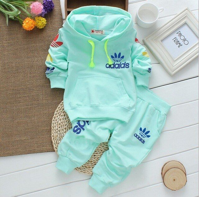 a257006d6746 Baby boys girls clothes sets casual kids suits infant girl boy ...