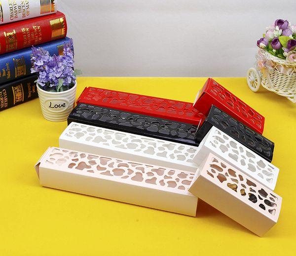 Короткий абзац длинный участок полой Macarons коробки шоколада коробки ящик…