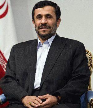 Mahmoud Ahmadinejad  former Iranian President