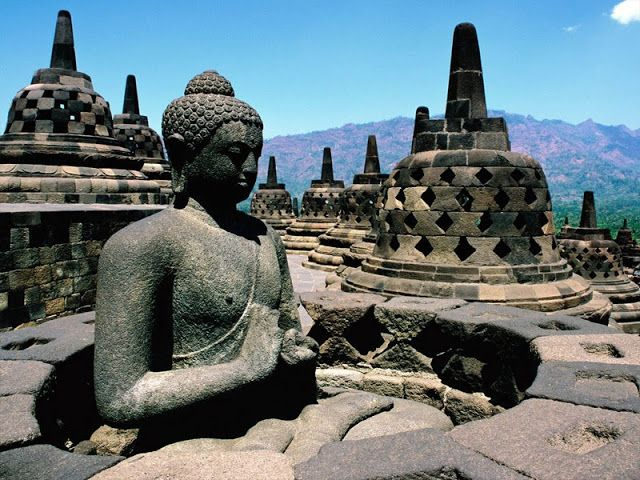 Candi Borobudur, Jawa, Indonesia