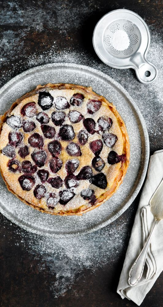 Cherry Clafoutis. Adapted from Mimi Thorisson | eatlittlebird.com