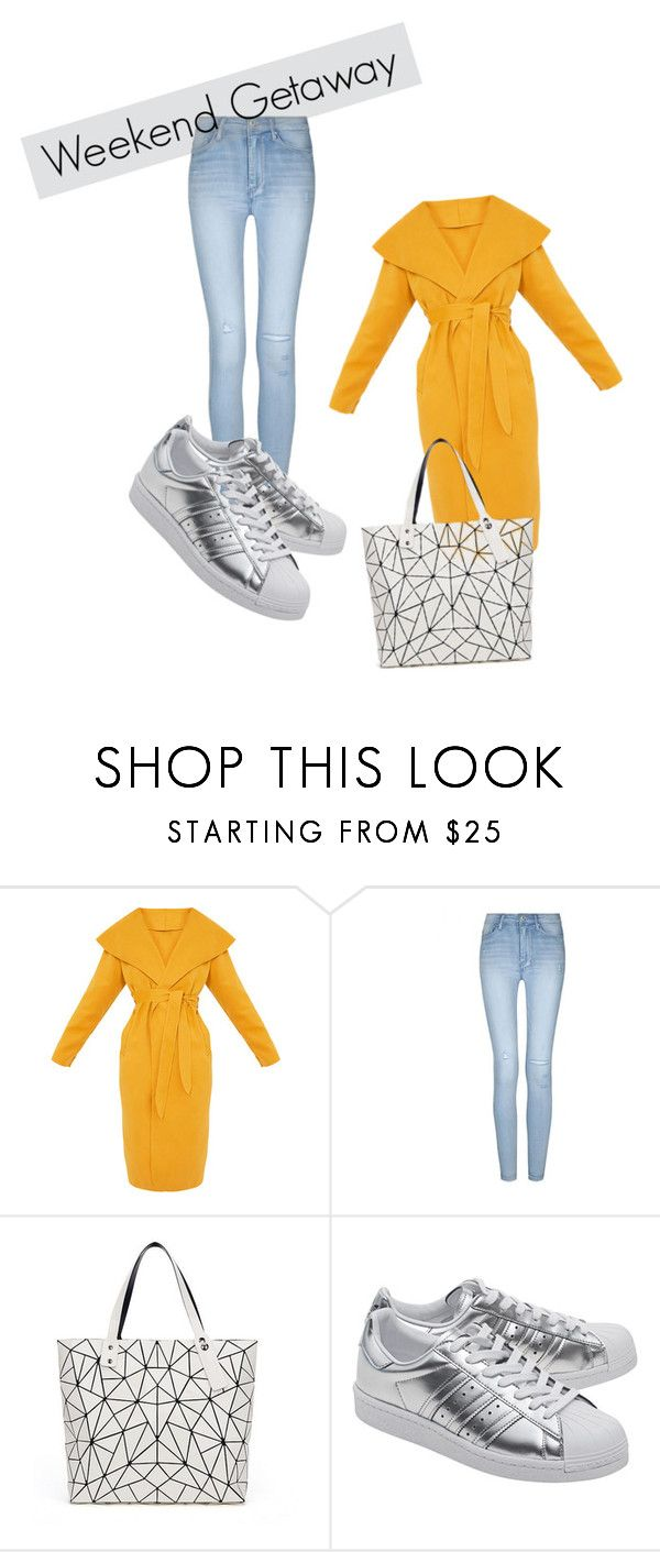 """""""Weekend Getaway"""" by rosamackenzie on Polyvore featuring Bao Bao by Issey Miyake and adidas Originals"""