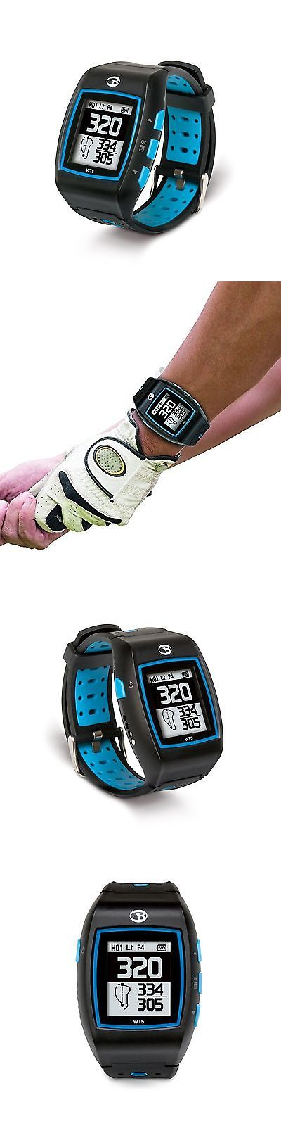 Rangefinders and Scopes 111289: Golfbuddy Wt5 Golf Gps Watch Black/Blue New BUY IT NOW ONLY: $117.04