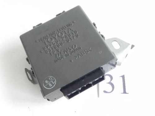 2005 LEXUS SC430 HEADLIGHT LAMP LEVELING COMPUTER MODULE 53639-24020 OEM 413 #31