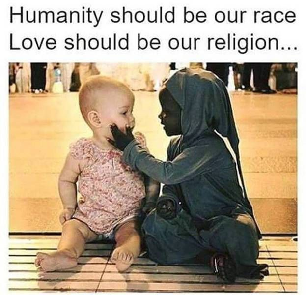 Image result for may humanity be our race poster