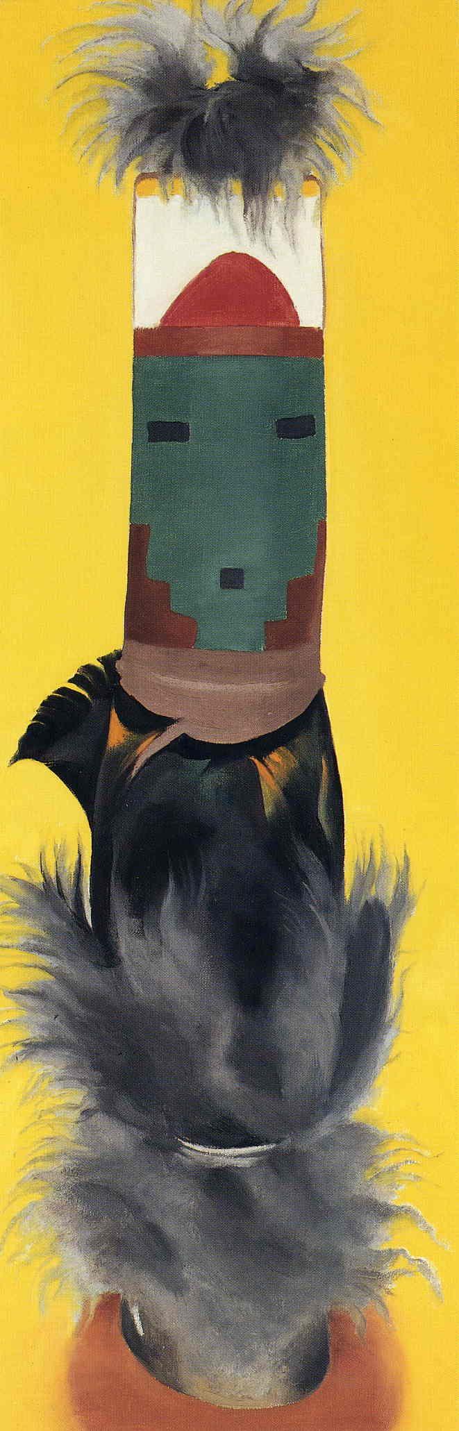 Kachina (1945) by Georgia O'Keeffe