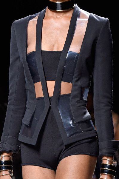 Balmain at Paris Spring 2015 (Details)