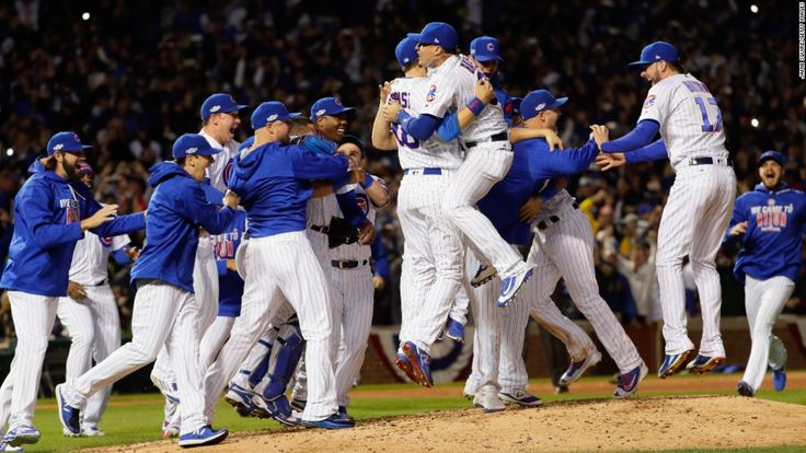 The Chicago Cubs finally ended their 71-year absence from the World Series by pushing aside the Los Angeles Dodgers 5-0 in Game 6 of the National League Championship Series.
