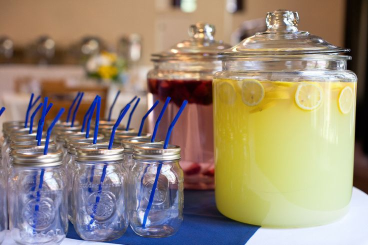 yellow and blue country weddings | blue and yellow reception ideas | Dandelions Flowers & Gifts