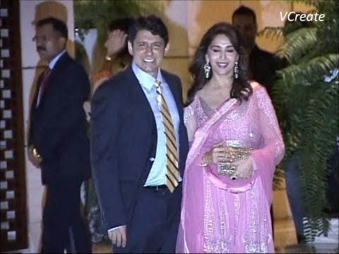 Madhuri Dixit at Mukesh Ambani's big bash party.