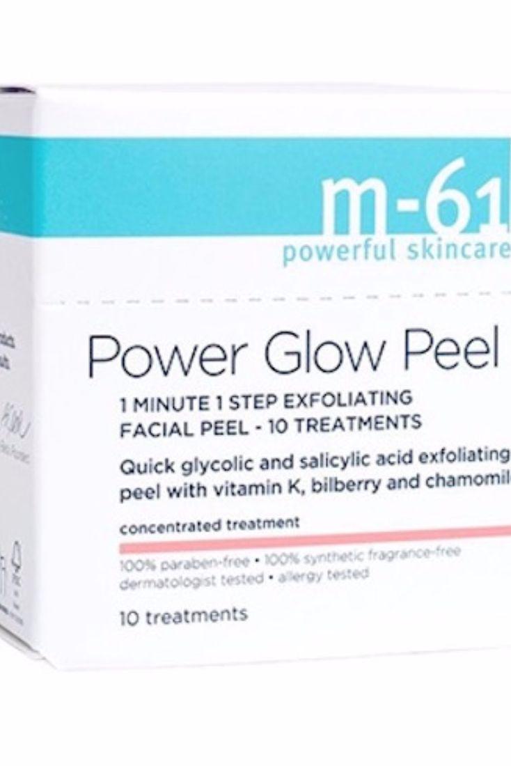 M-61 Power Glow Peel Facial Peels, $28