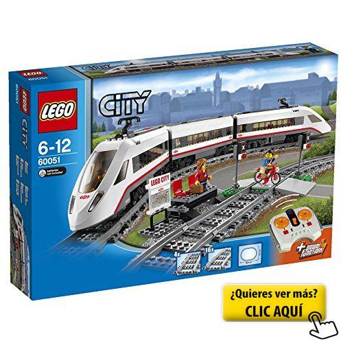 LEGO City - Tren de pasajeros de alta velocidad... #lego