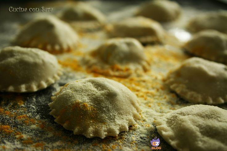 Ravioli senza uova con zucchine e patate