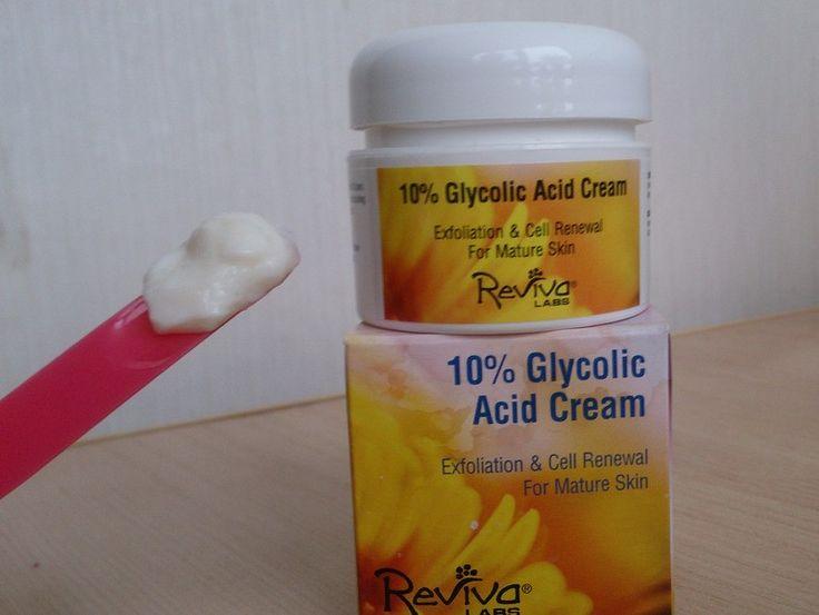 Гликолевый пилинг,фруктовые кислоты,крем с кислотой,гликолевая кислота,glycolic acid cream | Код на скидку в iherb BPR095