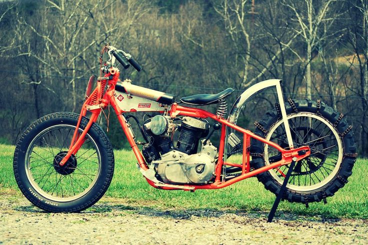 Indian Chout Hillclimber  Chout = Chief engine + Scout chassis