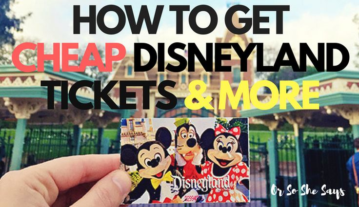 How to get CHEAP Disneyland tickets and more, today on the blog! We love our Disney experts from Get Away Today; they share so much good stuff with us!