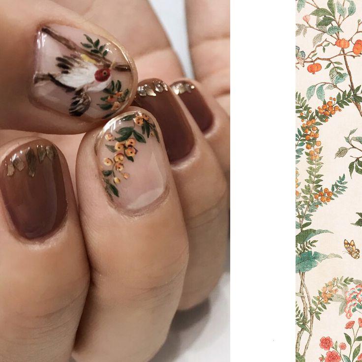#guccitian#絵画 #art #nail #nailart #nails #ネイル #ネイルアート #kan…