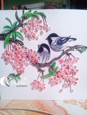 Birds quilling