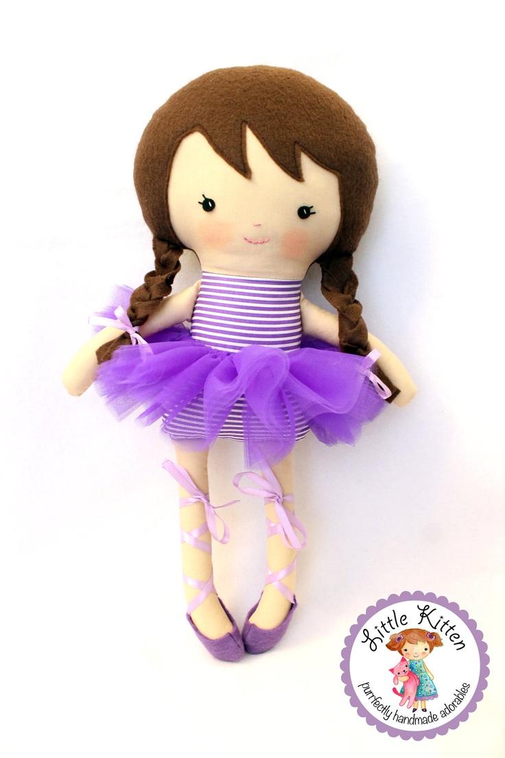 Ballerina Doll by ShopLittleKittenEtsy