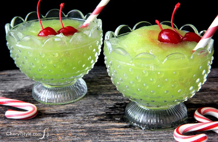 The vibrant green hue is only half the reason this drink was named for the sassy Christmas character. The other half? Its tangy taste.  Get the recipe at Everyday Dishes & DIY »   - HouseBeautiful.com