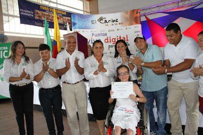 'El Cesar Se Conecta' benefició a 60 niños en condición de discapacidad