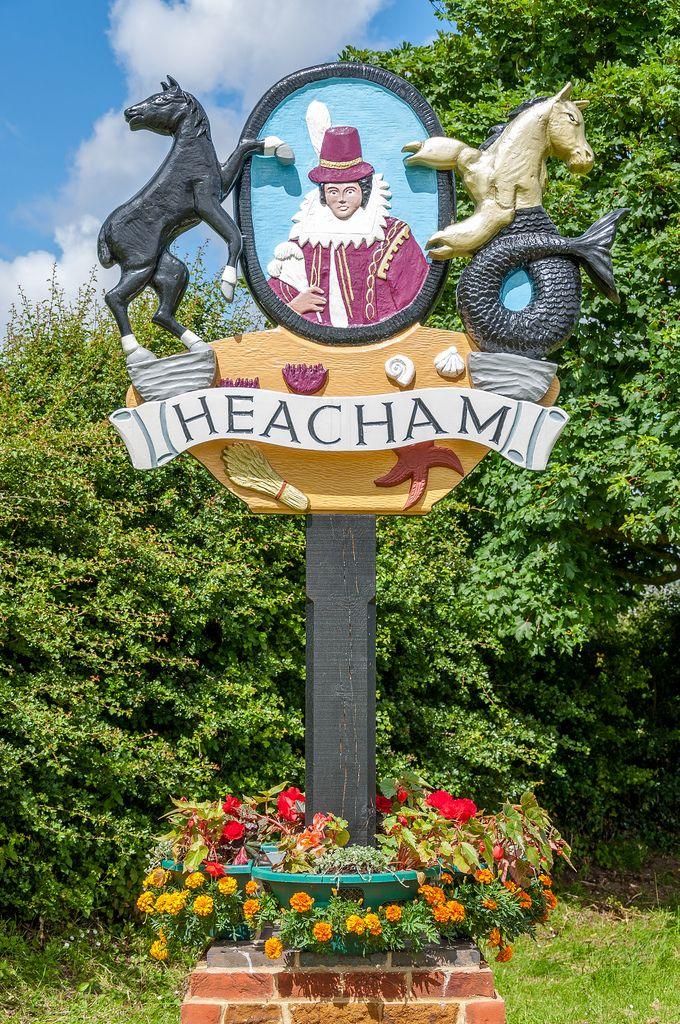 Heacham, Norfolk, England.