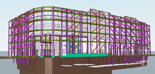 Prestigious Knightsbridge Façade supported, thanks to Tekla