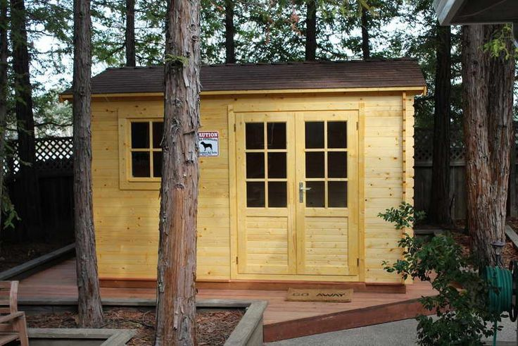 Simple Prefab Sheds Design Ideas ~ http://lovelybuilding.com/design-of-the-prefab-sheds-for-yard/