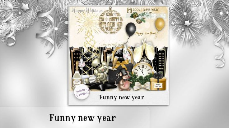 Funny New year by butterflyDsign