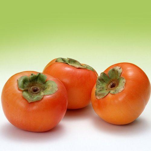 Frutas de A a Z - Caqui é fonte de sais minerais e vitaminas B(1-2-6-3 e C.