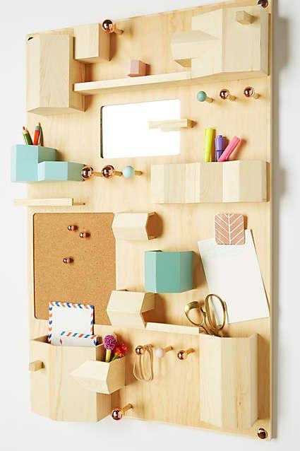 Hanging Desk Organizer - anthropologie.com