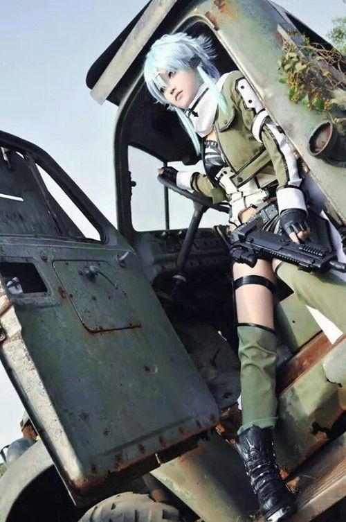 Favorite Cosplay ♥ | sword art online Sinon cosplay