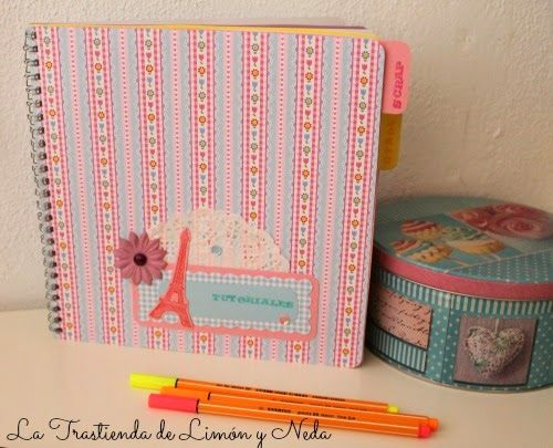 diy libreta scrap // scrapbook