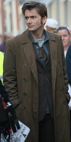 Doctor Who, the tenth doctor. David tennant was the best. :)