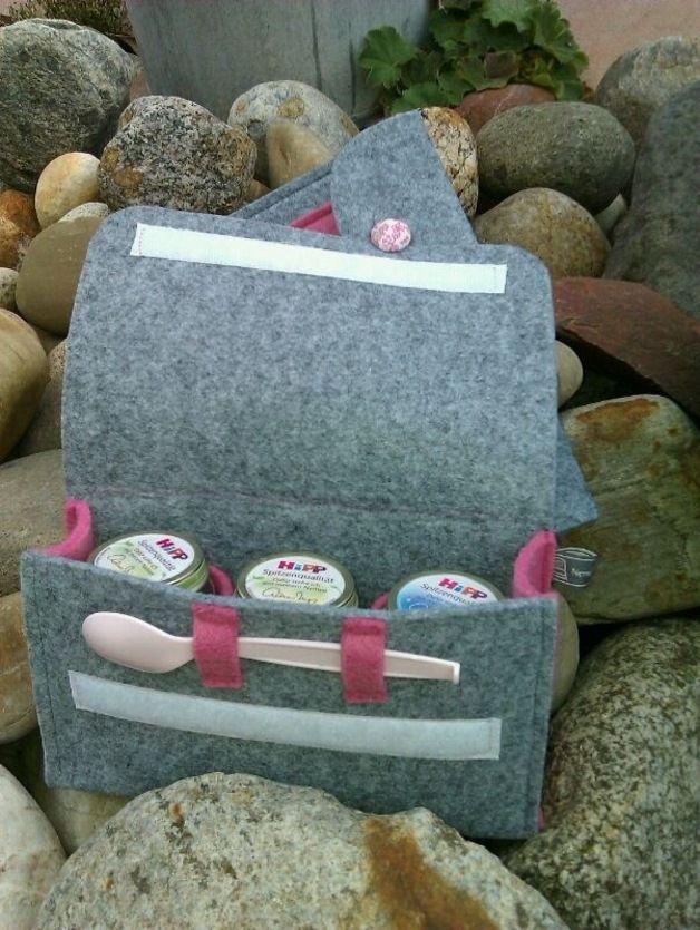 Gläschentasche aus Filz nach deinen Wünschen