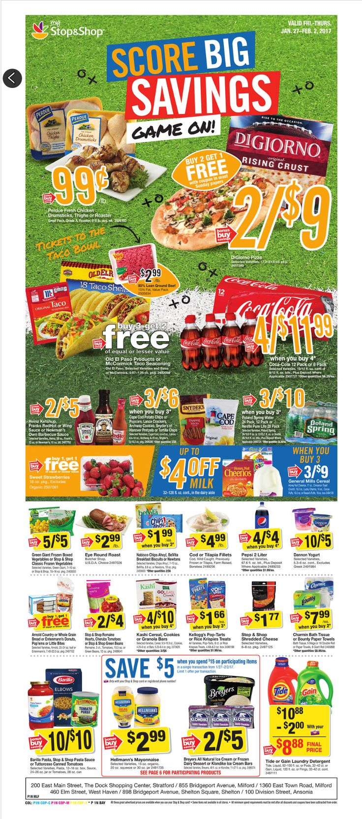 Stop and Shop Circular January 27 - February 2, 2017 - http://www.olcatalog.com/grocery/stop-and-shop-circular.html