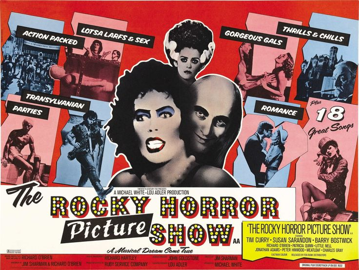 The Rocky Horror Picture Show - Mini Print A