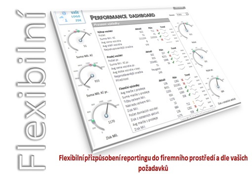 Flexible Dashboard - Ms excel dashboard, Reporting Solutions, Reporting v excelu
