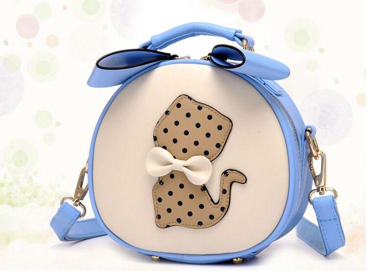 Sweet Womens Handbag Girl's Cartoon Shoulder Bag Cross Body Satchel Small Bag