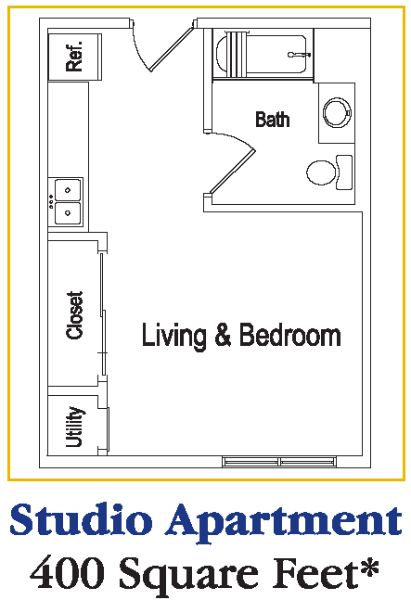 Studio Apartment Floor Plans New York 400 square foot studio - pueblosinfronteras