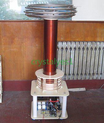 Tesla Coil Music Electric Arc Artificial Lightning Educate Can Custom MA02 C CA
