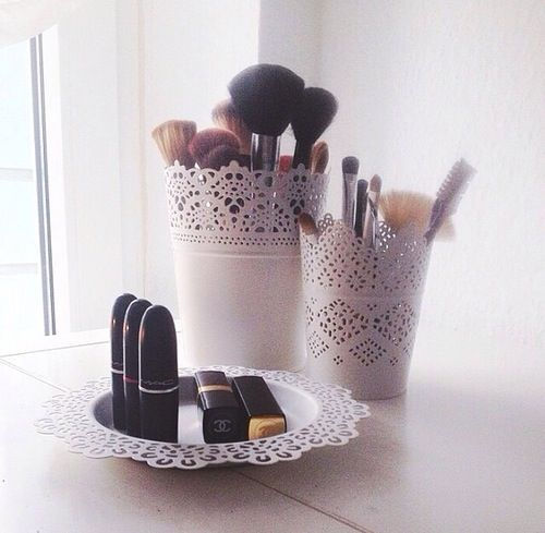 Best 20 rangement make up ideas on pinterest stockage de pinceau maquillage pinceau de - Diy rangement maquillage ...