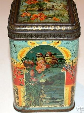 Vintage British biscuit tin