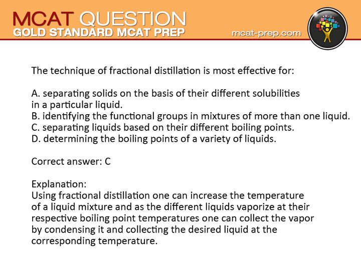 gold standard mcat practice test question explanation sign up for a free mcat prep account and get a free test videos and study plan http www