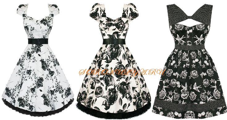 платья в стиле Pin Up
